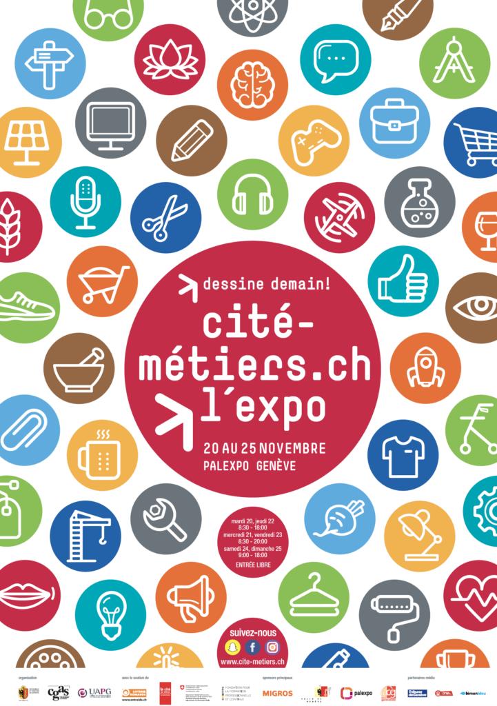 Cité des Métiers, du 20 au 25 novembre 2018 à Palexpo
